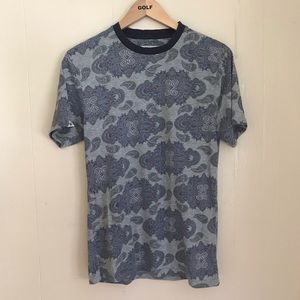 Bellfield paisley all over print T